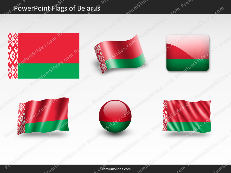 Free Belarus Flag PowerPoint Template