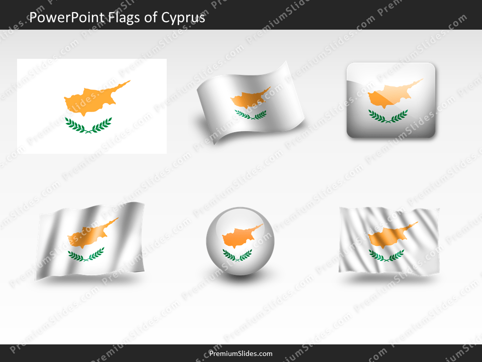 Free Cyprus Flag PowerPoint Template