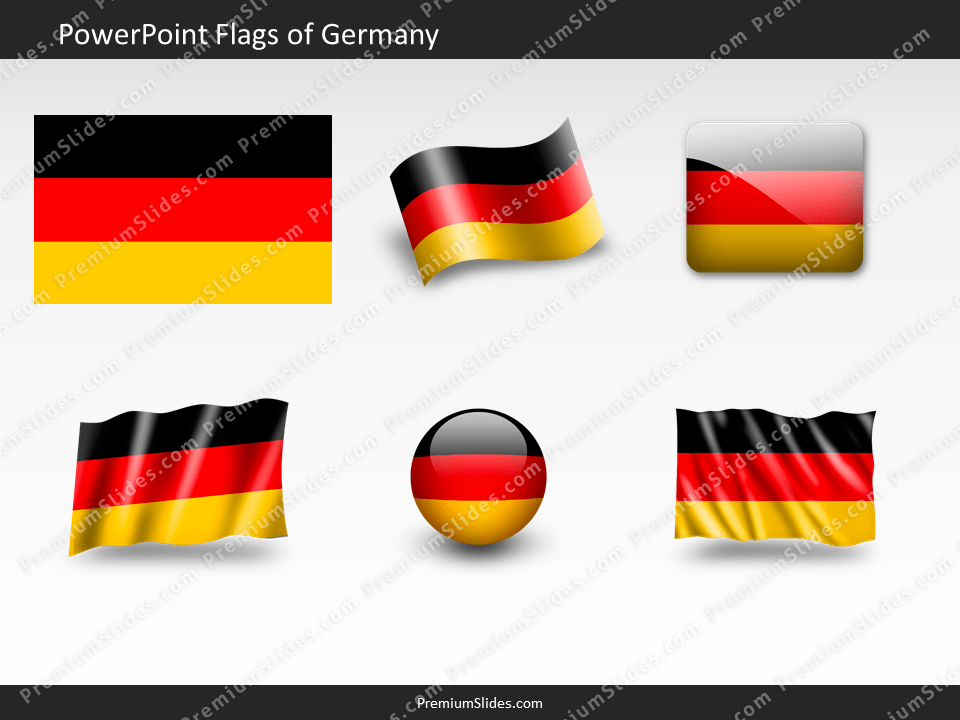 Free Germany Flag PowerPoint Template