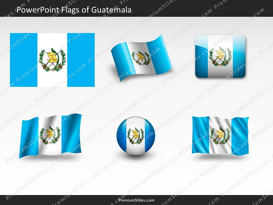 Free Guatemala Flag PowerPoint Template