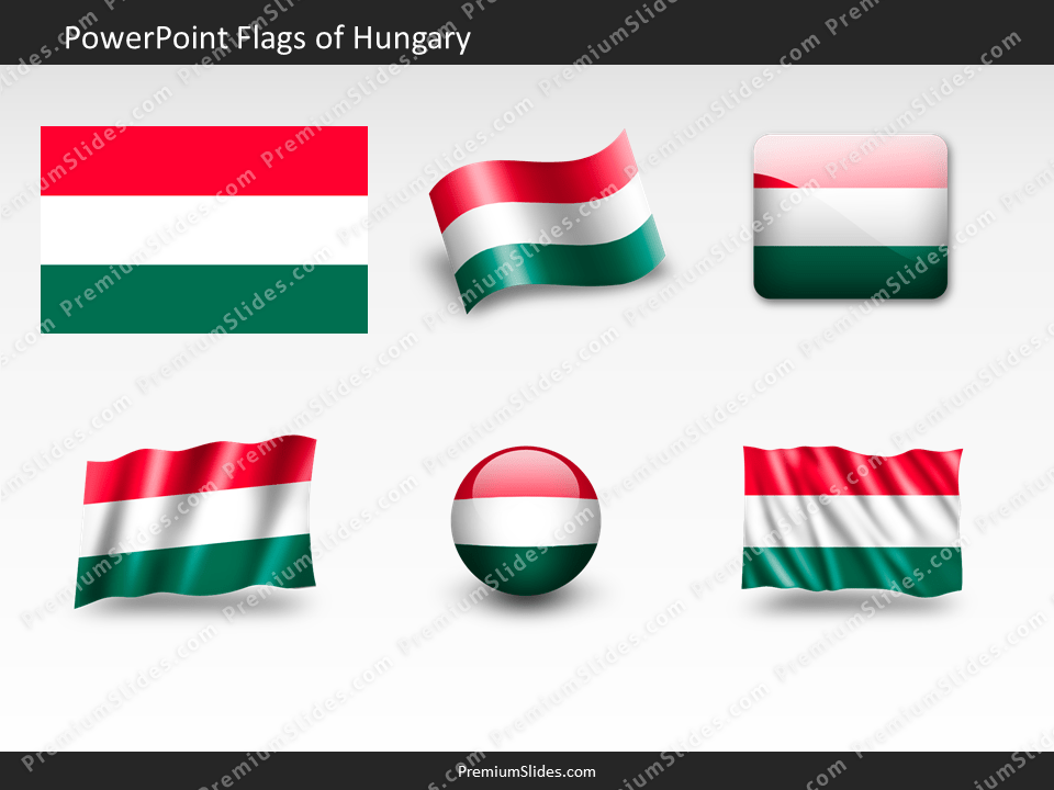 Free Hungary Flag PowerPoint Template
