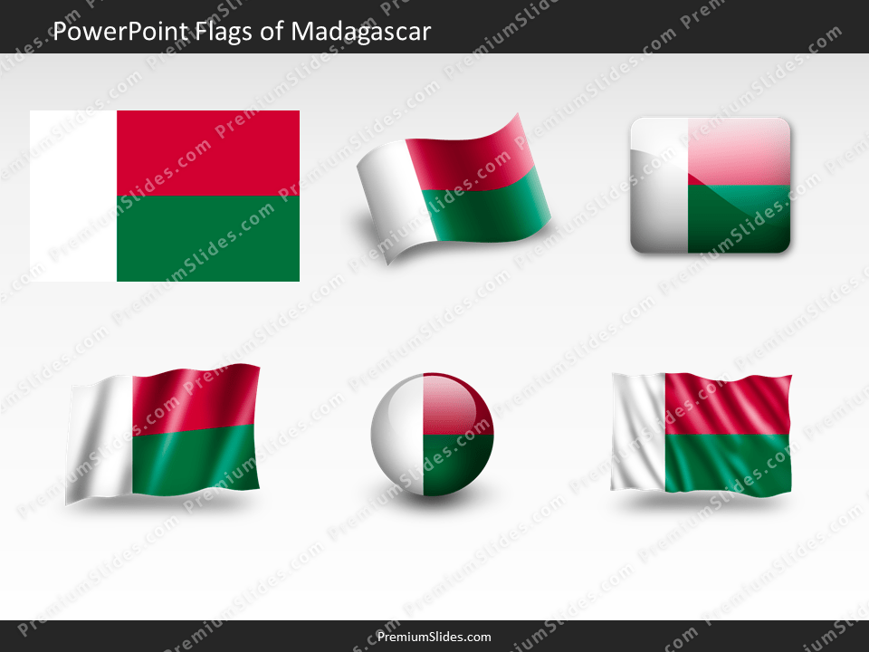 Free Madagascar Flag PowerPoint Template