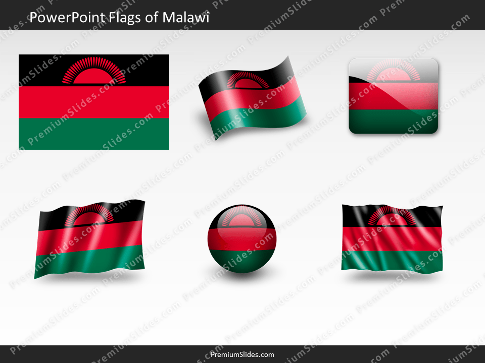Free Malawi Flag PowerPoint Template