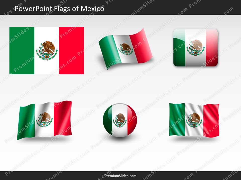 Free Mexico Flag PowerPoint Template