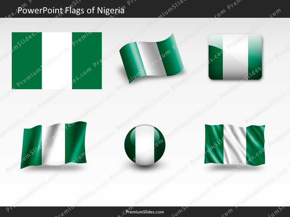 Free Nigeria Flag PowerPoint Template