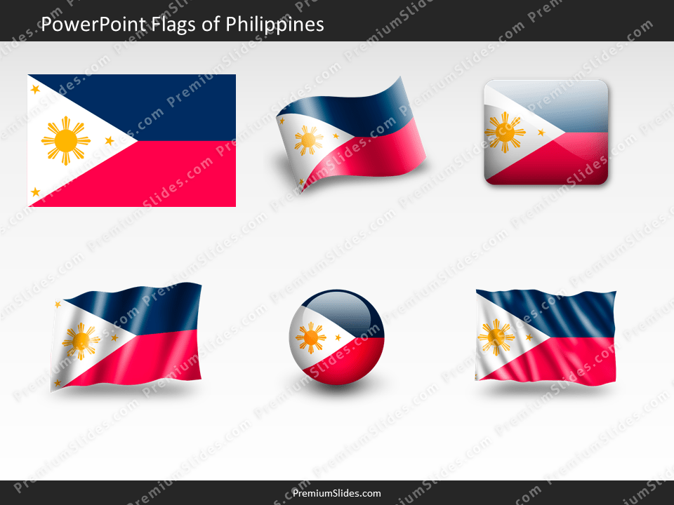 Free Philippines Flag PowerPoint Template