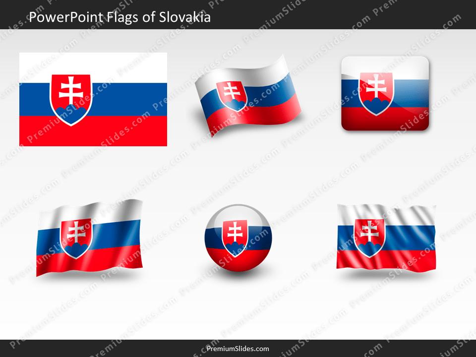 Free Slovakia Flag PowerPoint Template