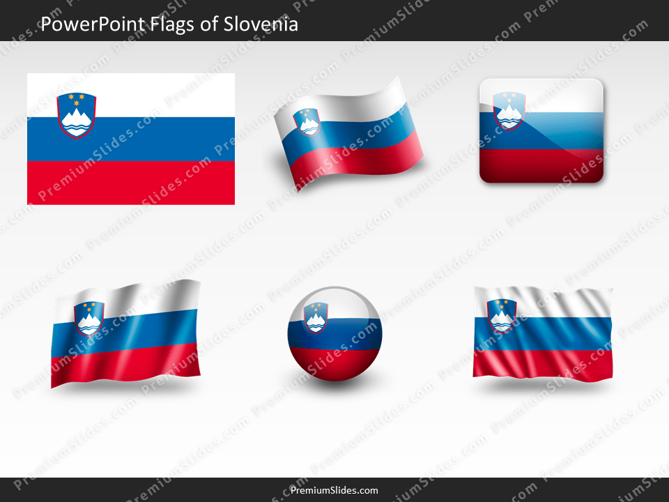 Free Slovenia Flag PowerPoint Template