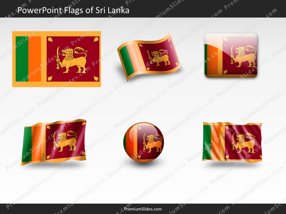 Free Sri-Lanka Flag PowerPoint Template