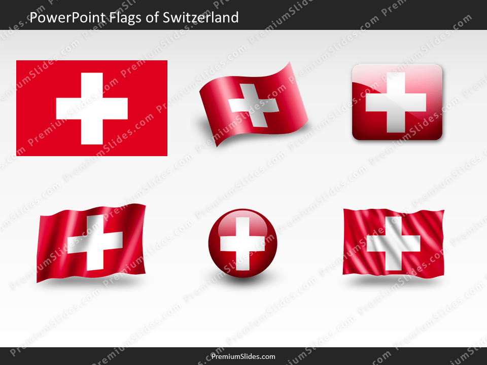 Free Switzerland Flag PowerPoint Template
