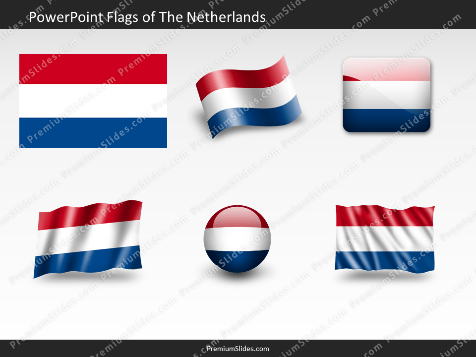 Free The-Netherlands Flag PowerPoint Template