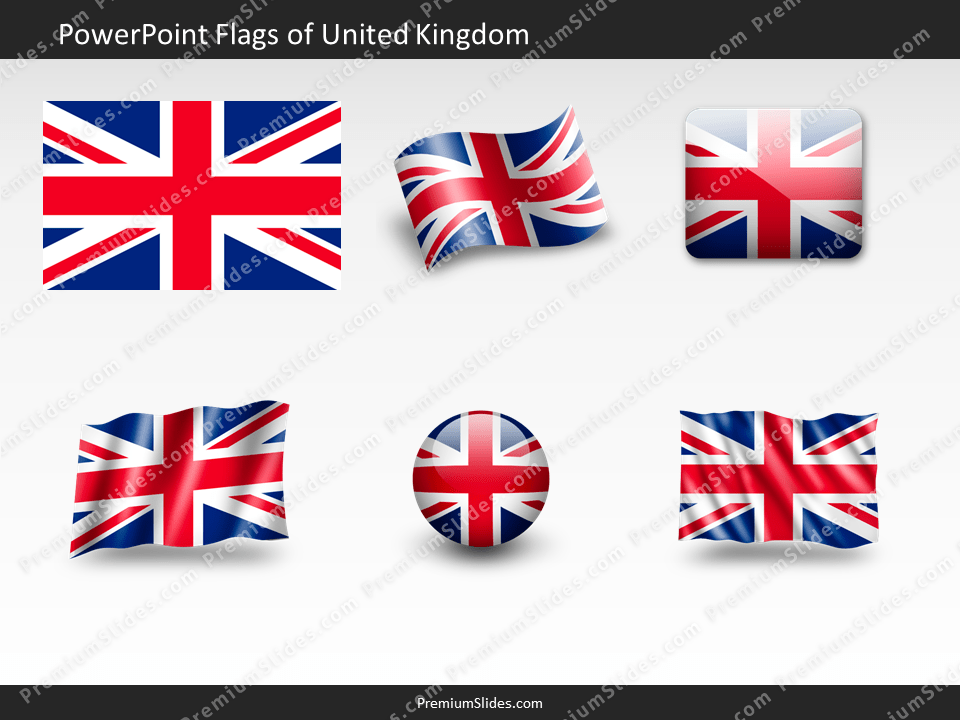 Free United-Kingdom Flag PowerPoint Template