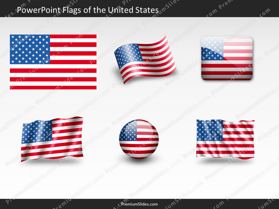 Free United-States Flag PowerPoint Template