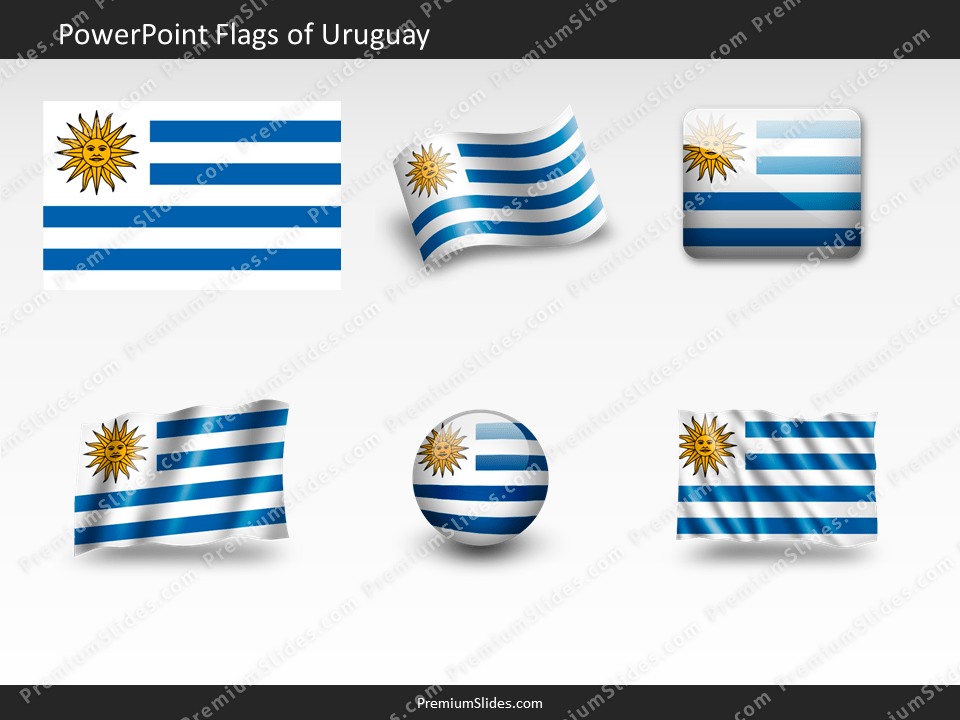 Free Uruguay Flag PowerPoint Template