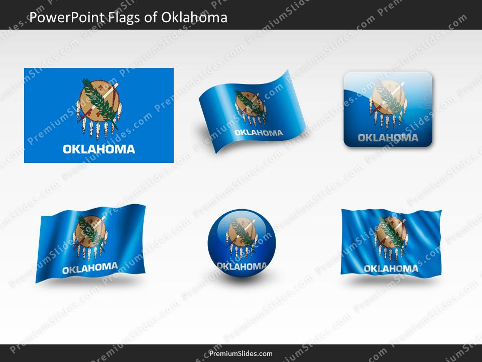 Free Oklahoma Flag PowerPoint Template