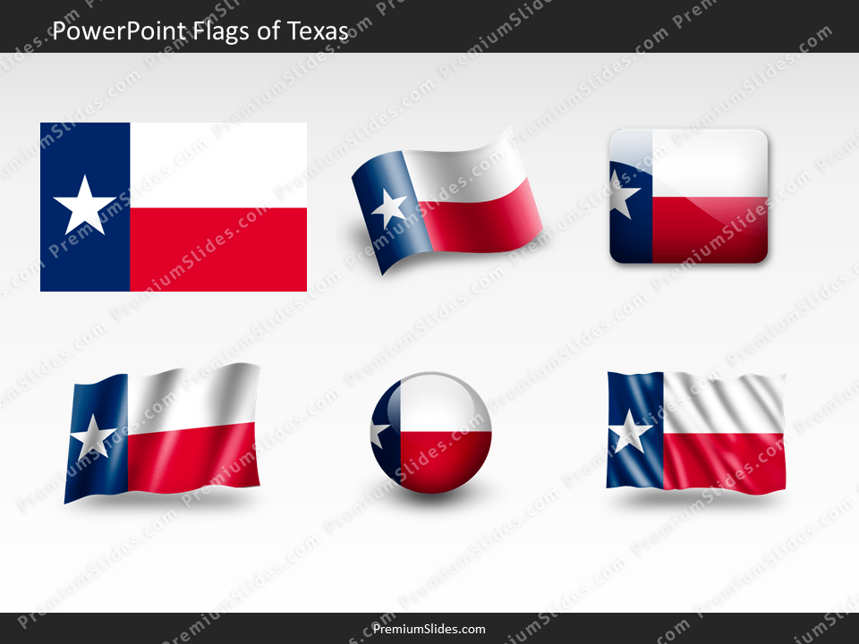 Free Texas Flag PowerPoint Template