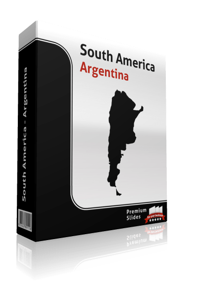 powerpoint map argentina