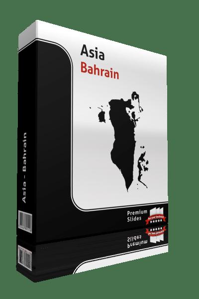powerpoint map bahrain