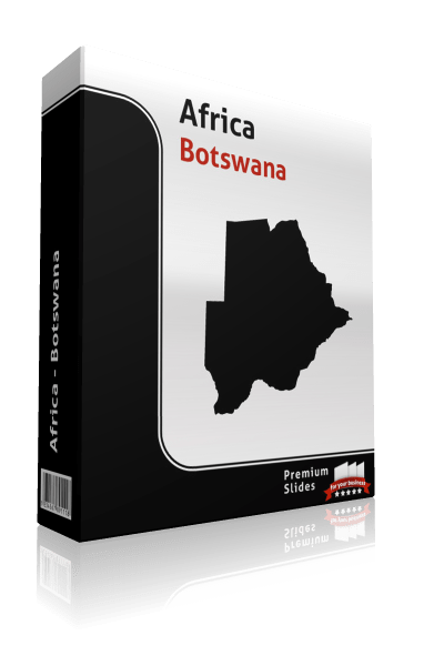 powerpoint-map-botswana