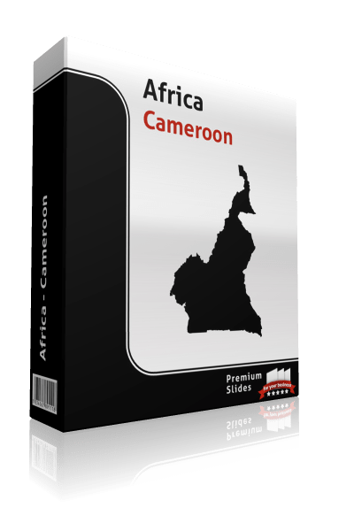 powerpoint map cameroon