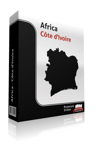 powerpoint map cote divoire
