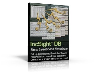Excel Dashboard Reporting - IncSight DB