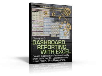 Dashboard Reporting with Microsoft Excel