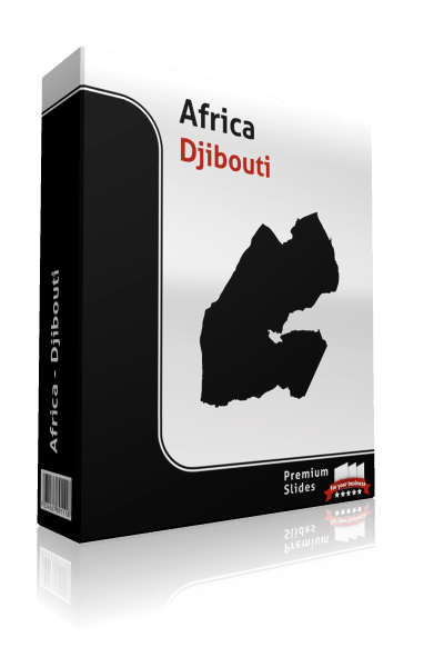 powerpoint map djibouti