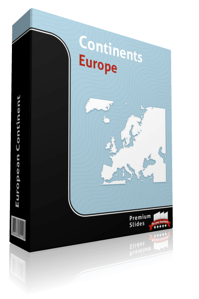 powerpoint europe map