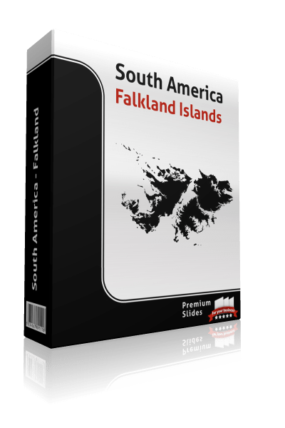 powerpoint map falkland islands