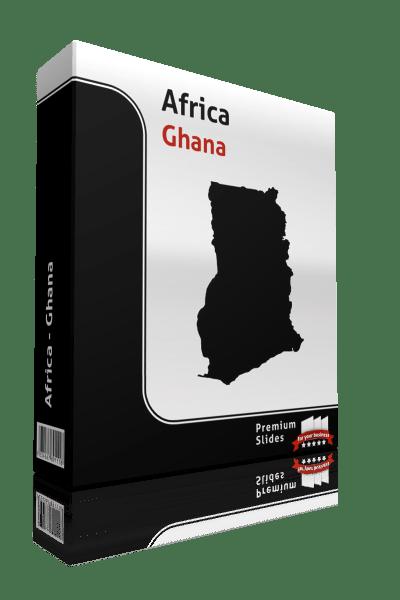 powerpoint map ghana