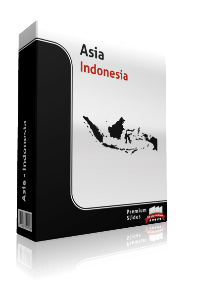 powerpoint map indonesia