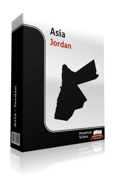 powerpoint map jordan