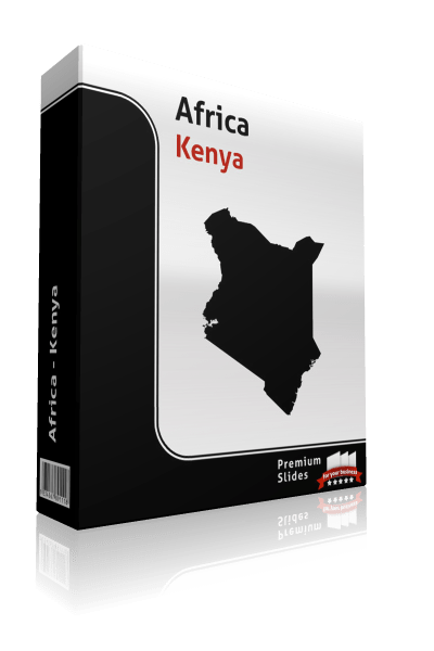 powerpoint map kenya