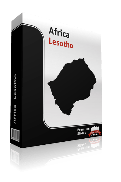 powerpoint-map-lesotho