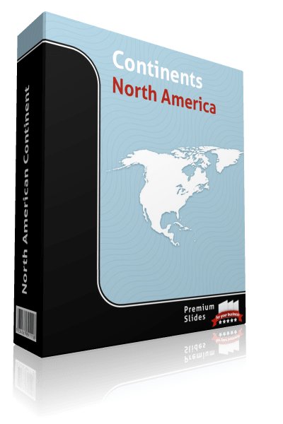 powerpoint map north america