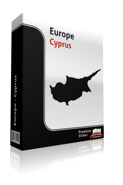 powerpoint map cyprus