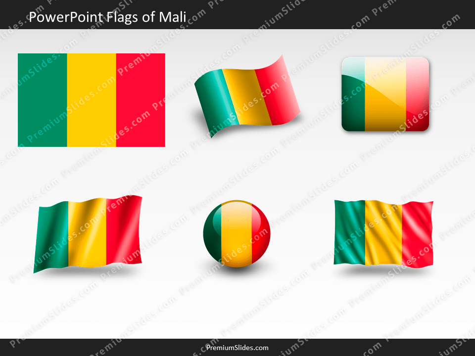 Free Mali Flag PowerPoint Template