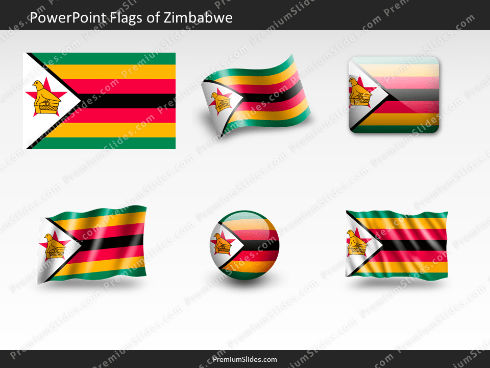 Free Zimbabwe Flag PowerPoint Template