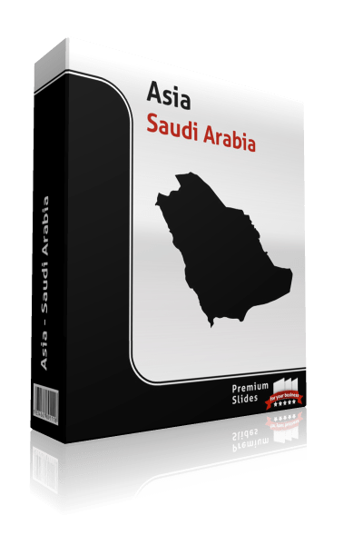 powerpoint map saudi arabia