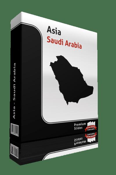 powerpoint map saudi arabia