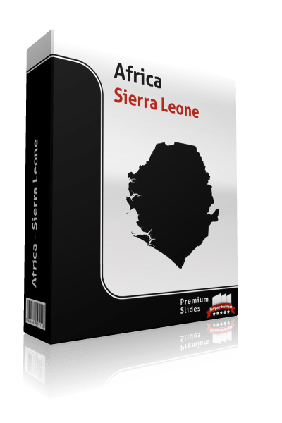powerpoint map sierra leone