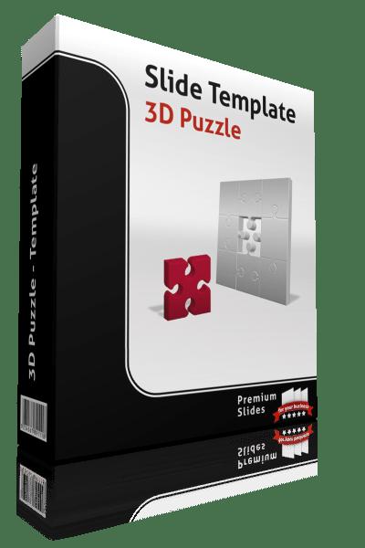 Premium PowerPoint 3D Puzzle Template