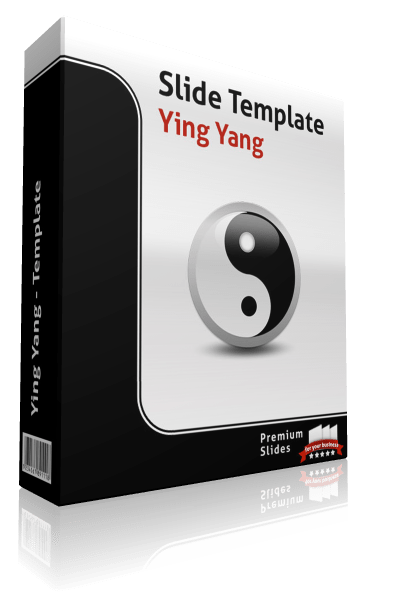Premium PowerPoint Ying Yang Template