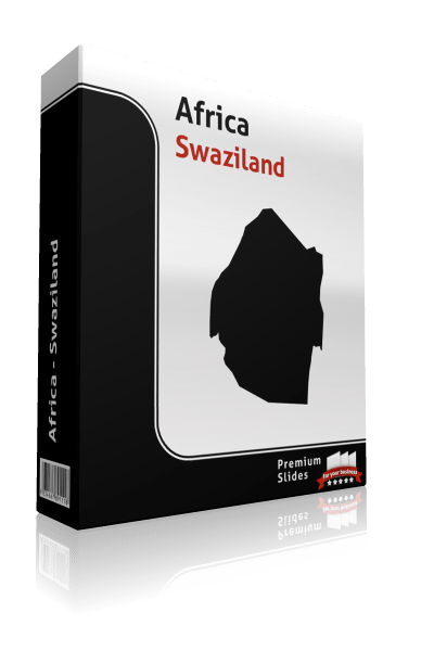 powerpoint map swaziland