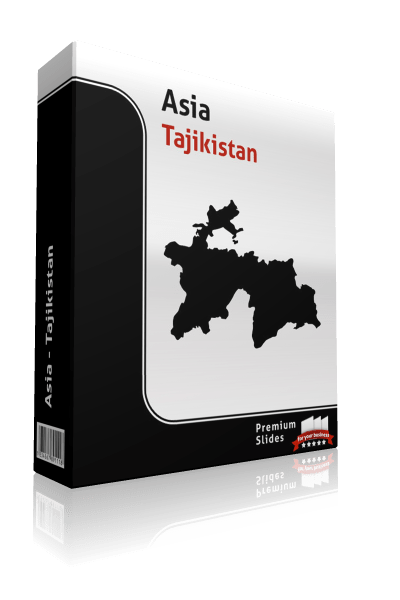 powerpoint map tajikistan