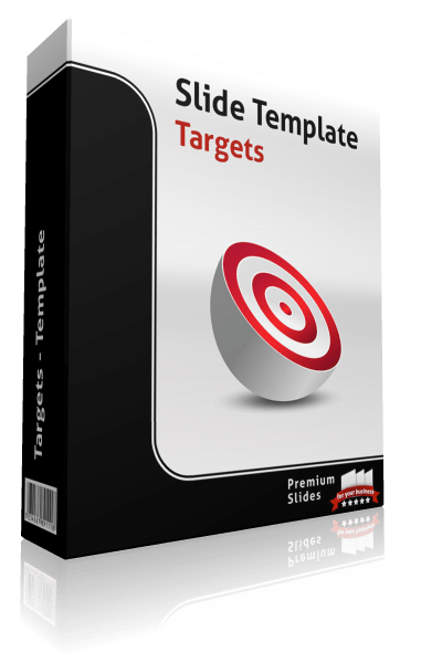 Premium PowerPoint Target Charts