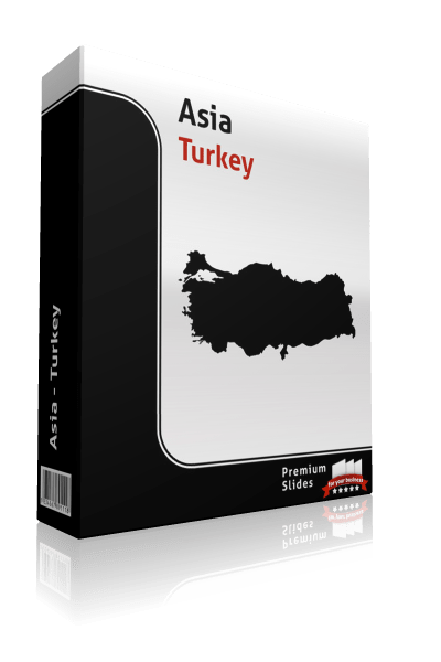 powerpoint map turkey