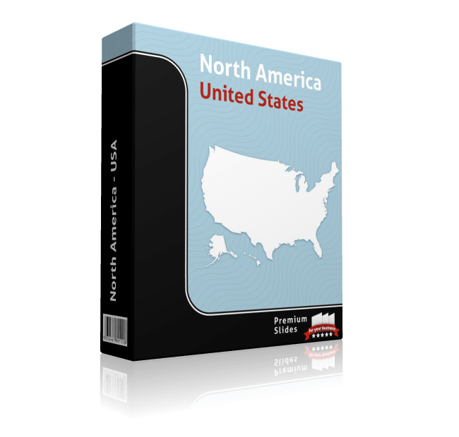powerpoint map usa