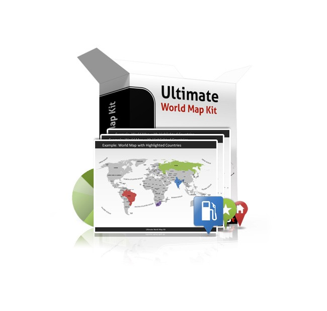 Ultimate World Map Kit Classic